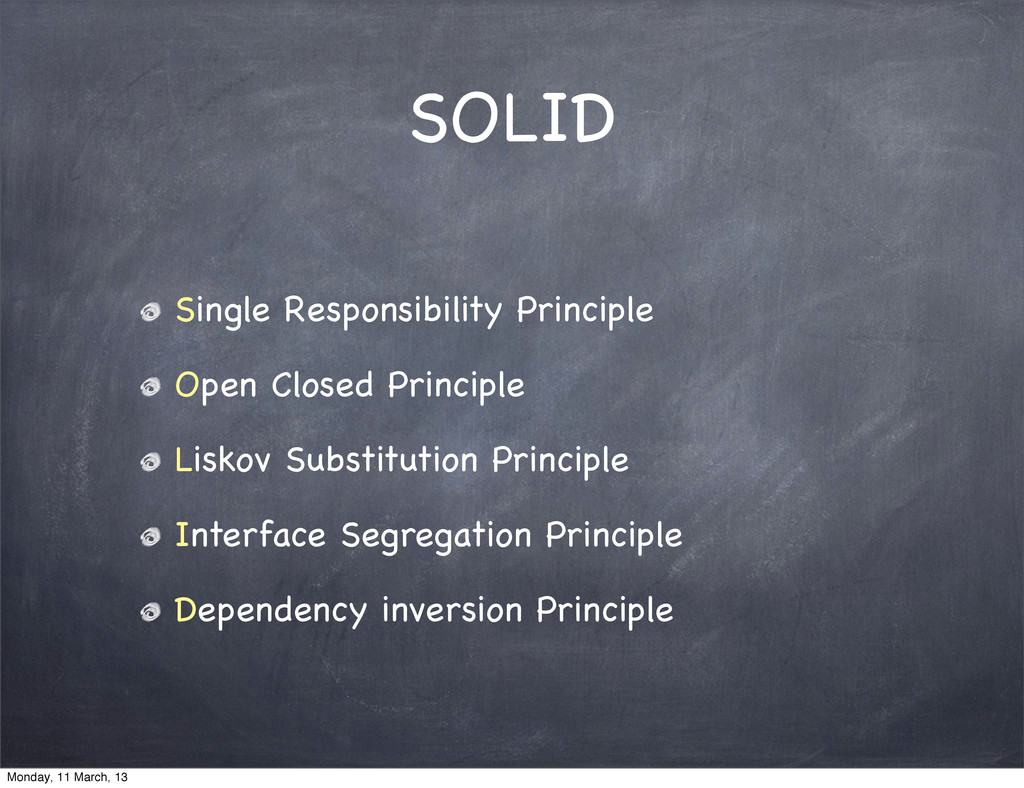 SOLID Single Responsibility Principle Open Clos...