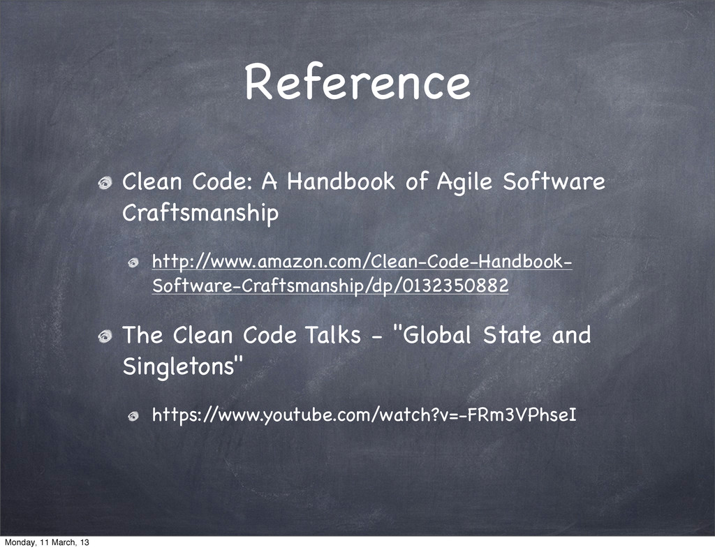 Reference Clean Code: A Handbook of Agile Softw...