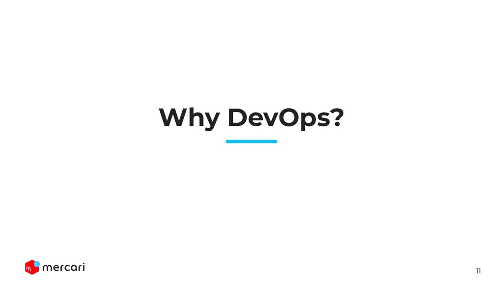 11 Why DevOps?