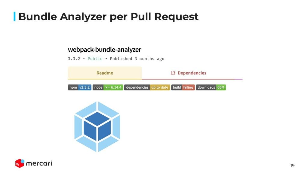 19 Bundle Analyzer per Pull Request