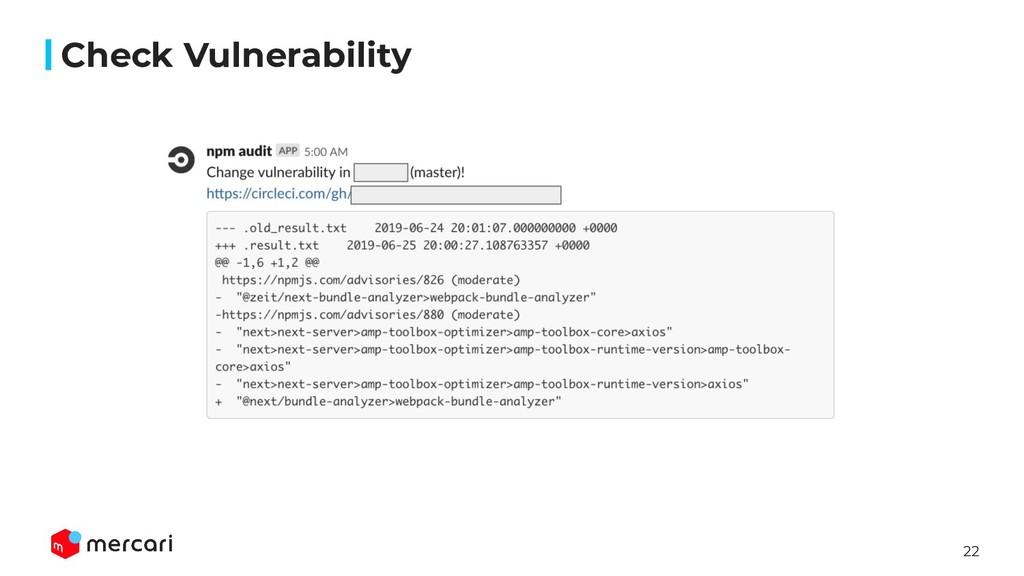 22 Check Vulnerability