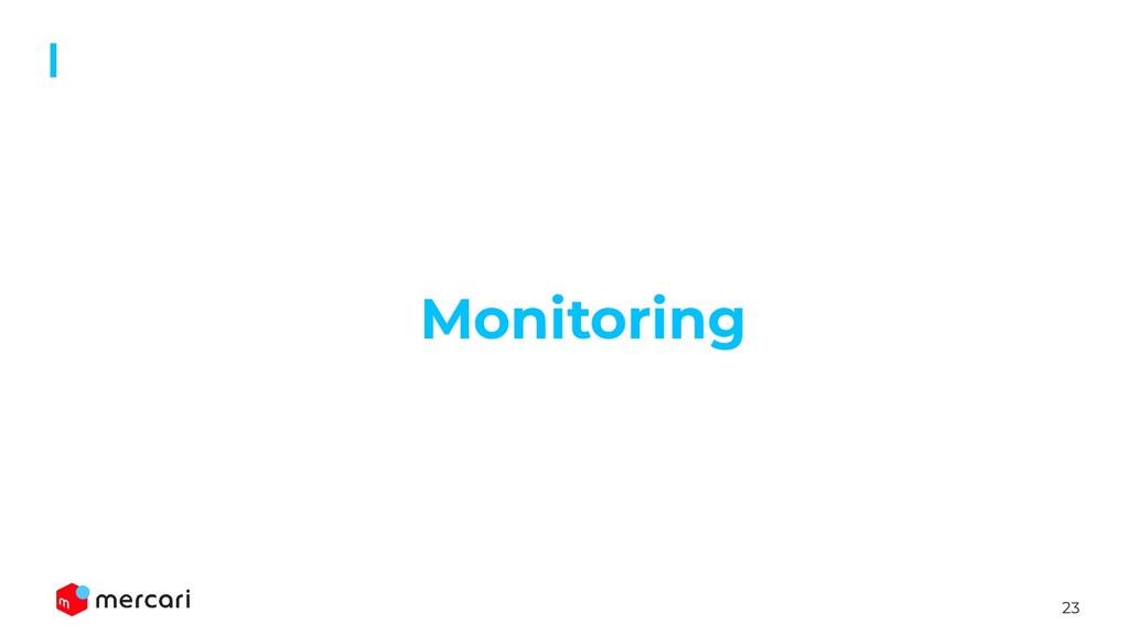 23 Monitoring