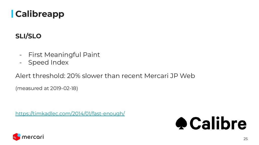 25 Calibreapp - First Meaningful Paint - Speed ...