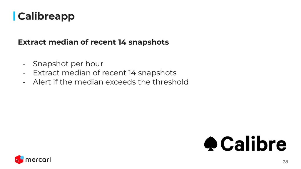 28 Calibreapp - Snapshot per hour - Extract med...