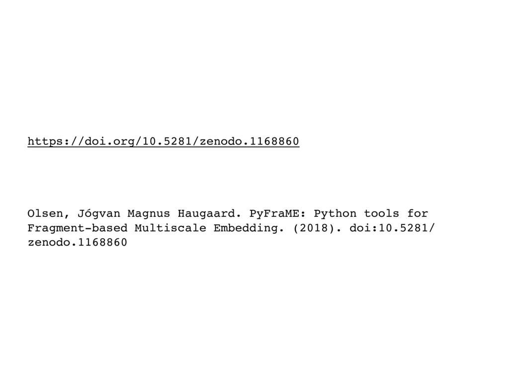 https://doi.org/10.5281/zenodo.1168860 Olsen, J...