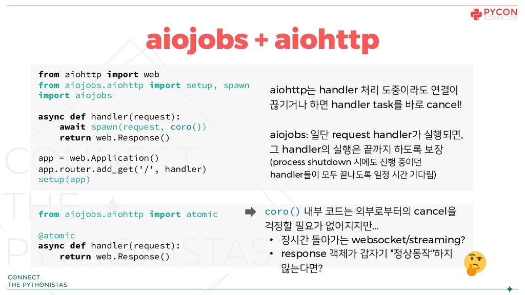 aiojobs + aiohttp from aiohttp import web from ...