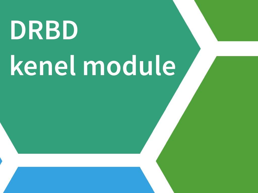 DRBD kenel module