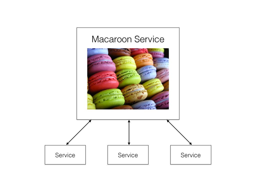 Macaroon Service Service Service Service