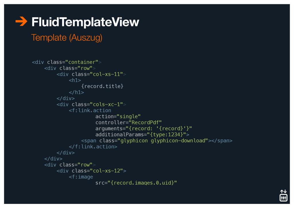 "FluidTemplateView <div class=""container""> <div..."