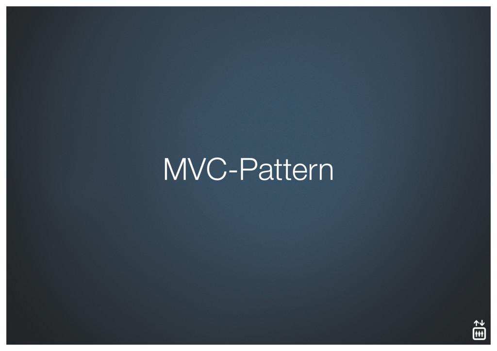 MVC-Pattern