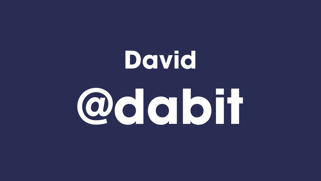 David @dabit