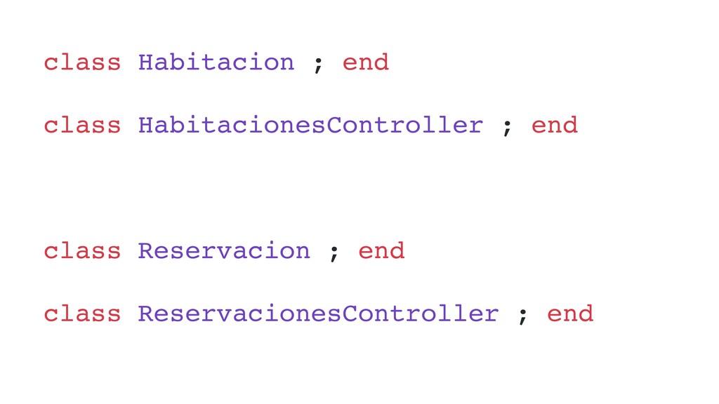 class Habitacion ; end class HabitacionesContro...
