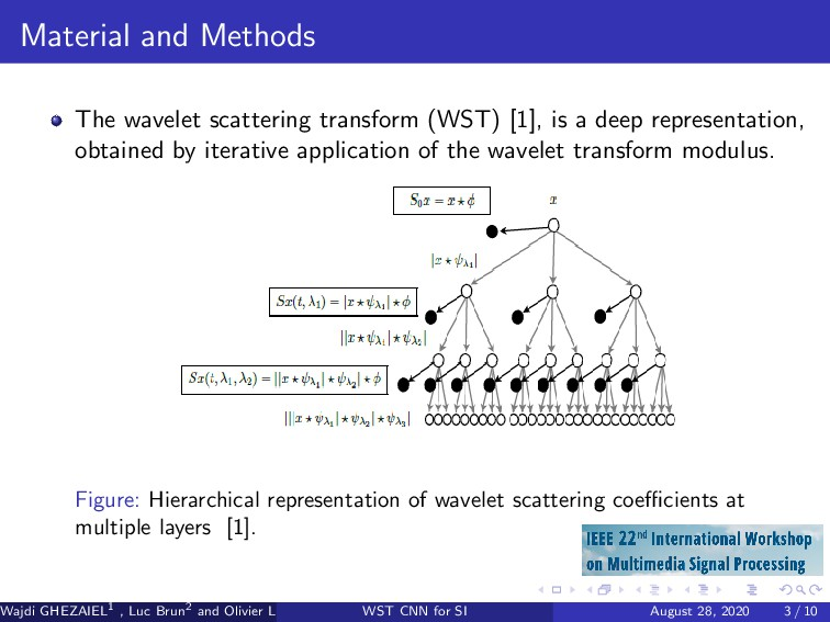 Material and Methods The wavelet scattering tra...
