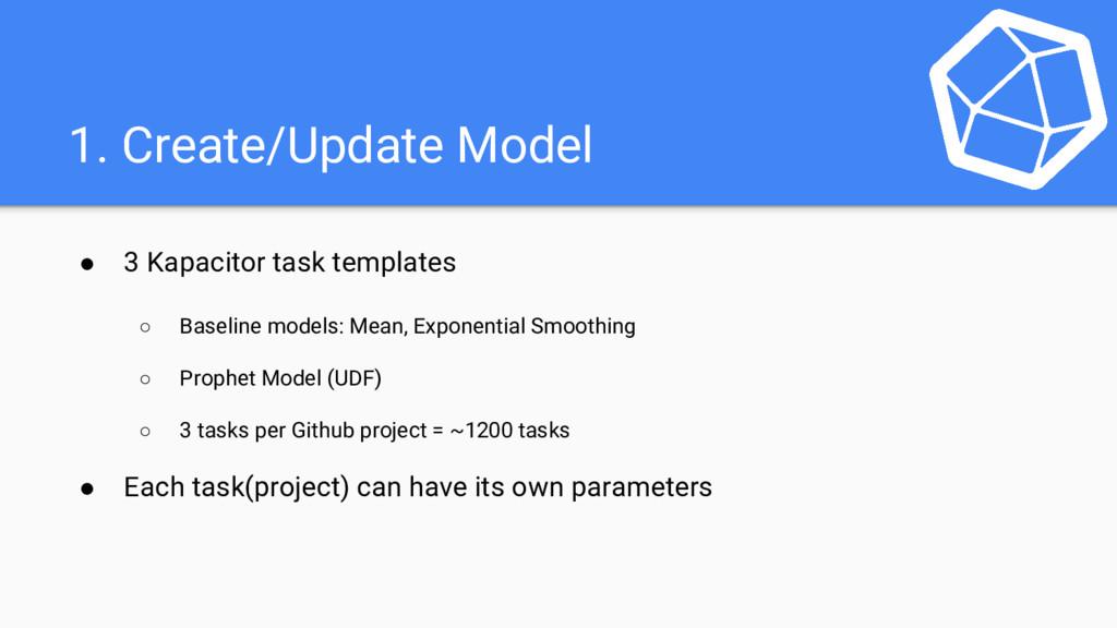 1. Create/Update Model ● 3 Kapacitor task templ...