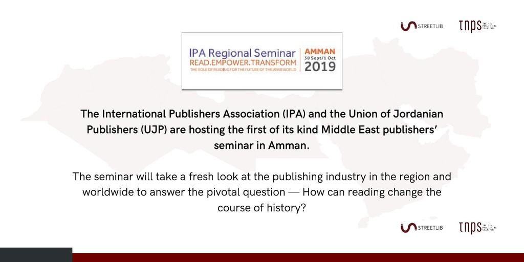 The International Publishers Association (IPA) ...