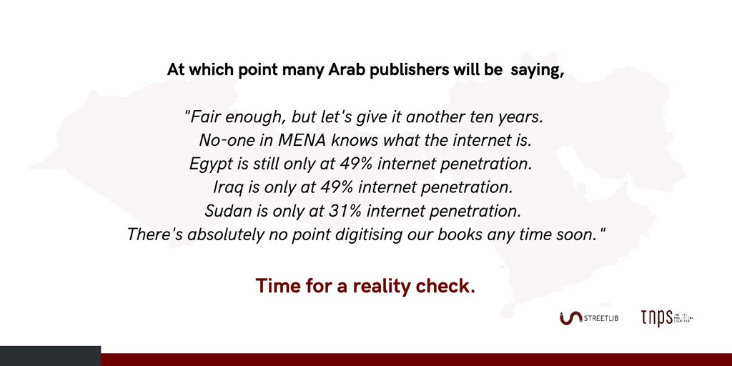 At which point many Arab publishers will be say...