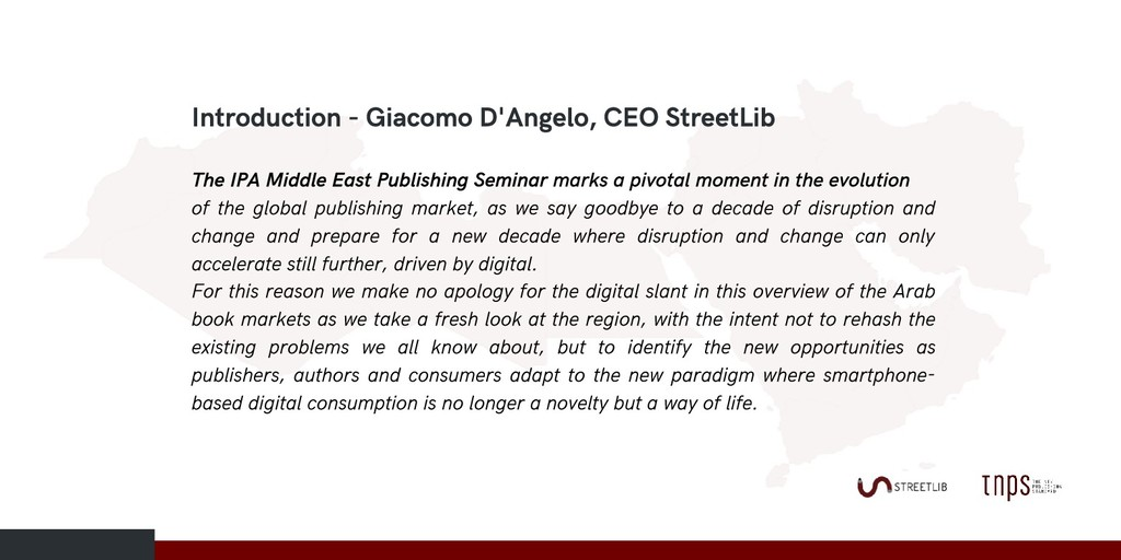 Introduction - Giacomo D'Angelo, CEO StreetLib ...