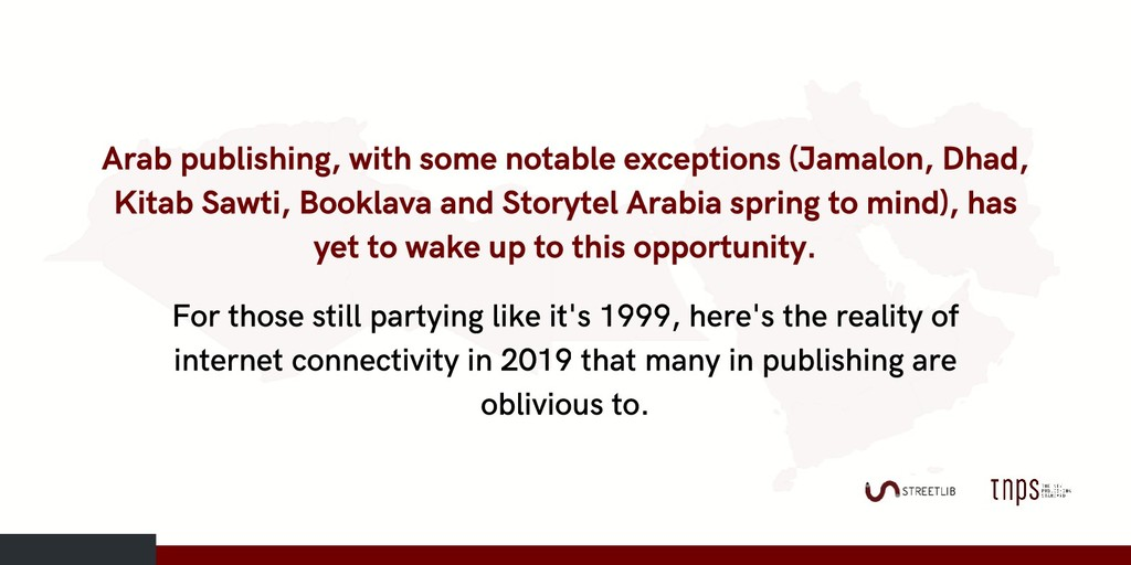 Arab publishing, with some notable exceptions (...