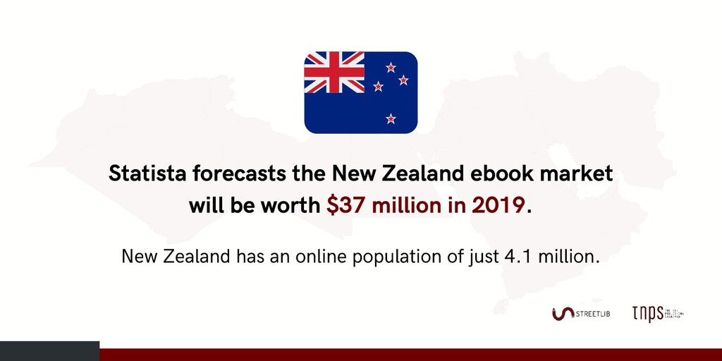 Statista forecasts the New Zealand ebook market...