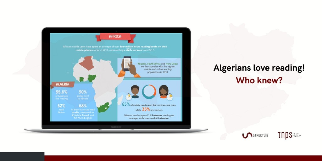 Algerians love reading! Who knew?