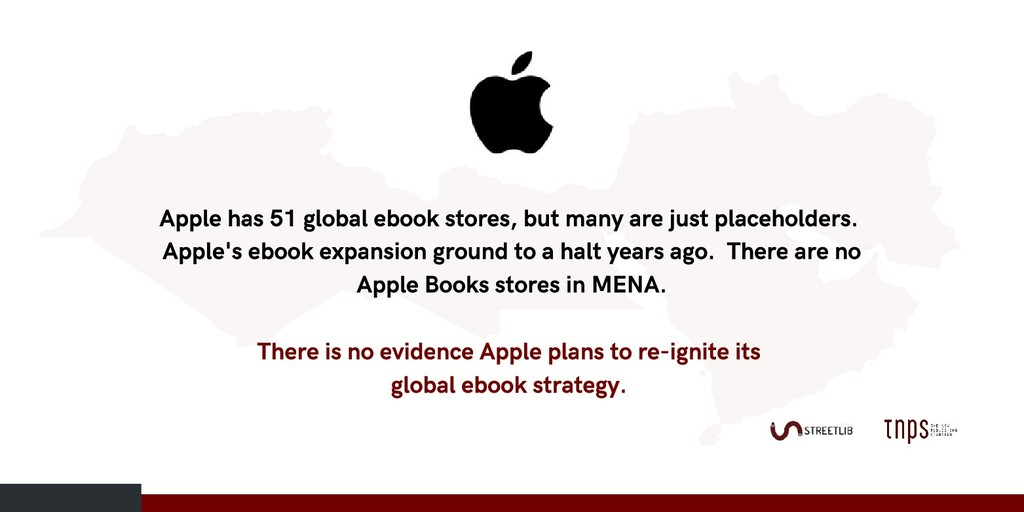 Apple has 51 global ebook stores, but many are ...