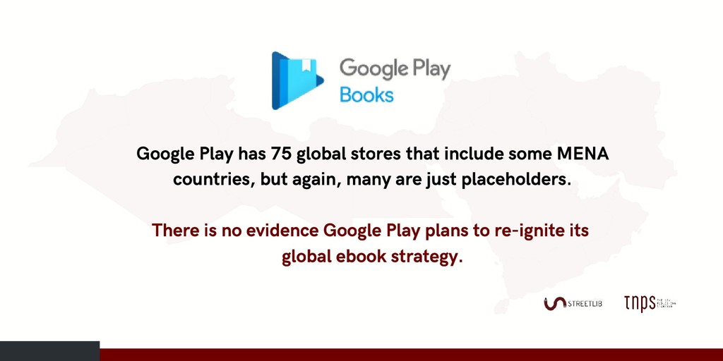 Google Play has 75 global stores that include s...