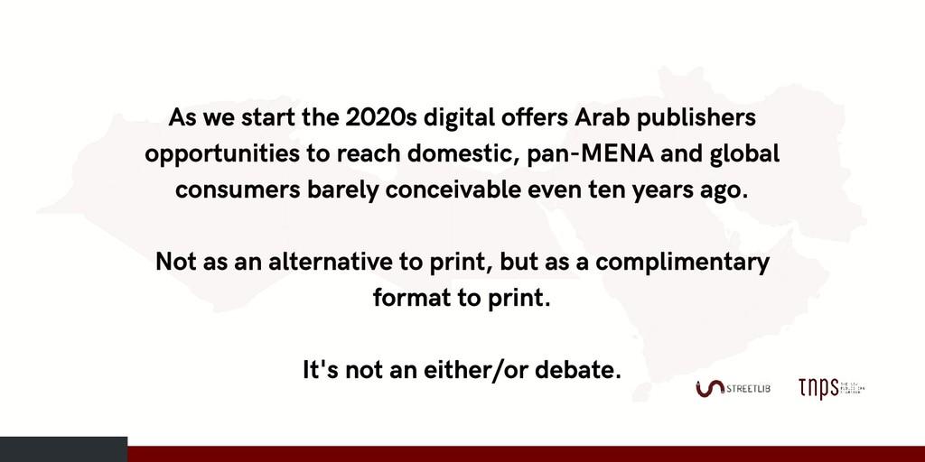 As we start the 2020s digital offers Arab publi...