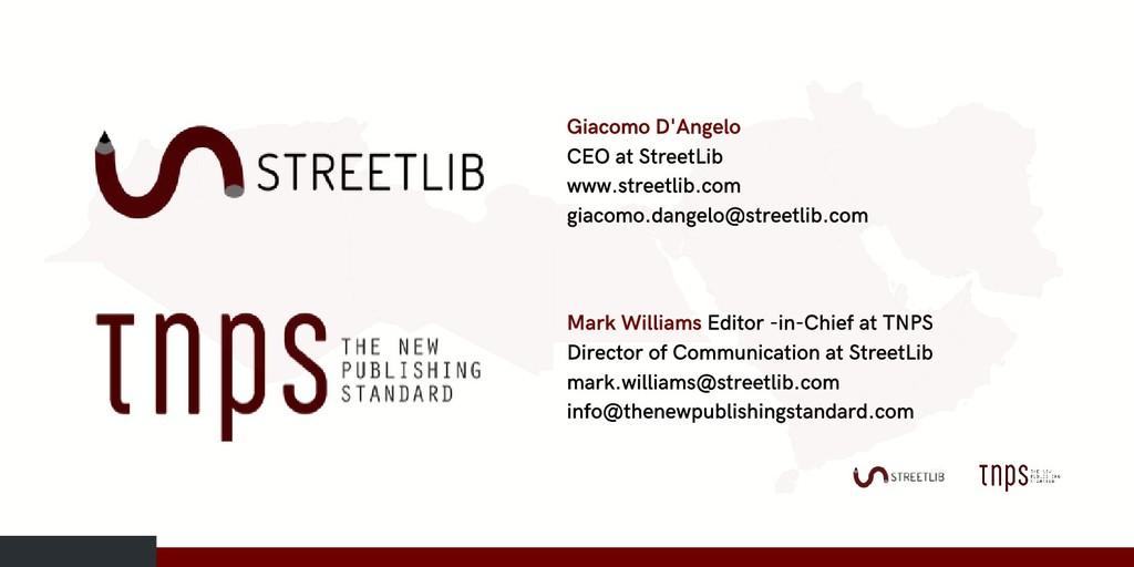Giacomo D'Angelo CEO at StreetLib www.streetlib...