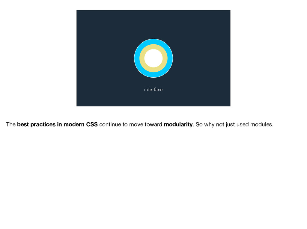 interface The best practices in modern CSS cont...