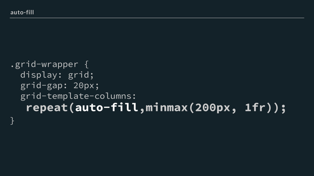 .grid-wrapper { display: grid; grid-gap: 20px; ...