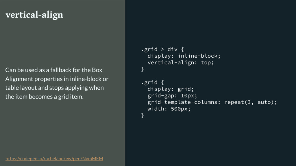 .grid > div { display: inline-block; vertical-a...