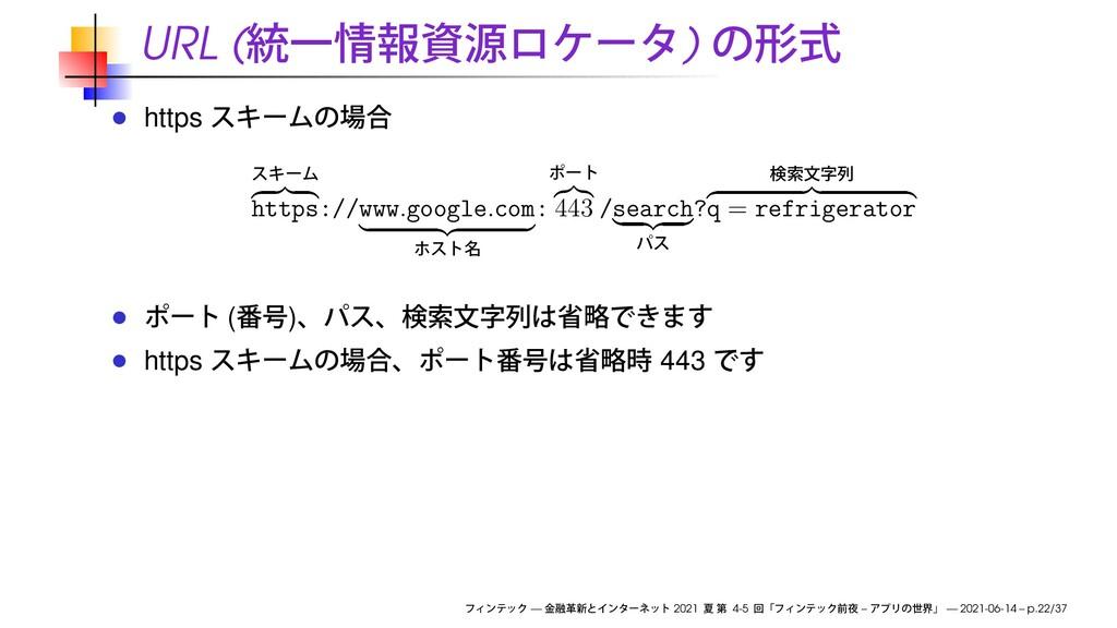 URL ( ) https https://www . google . com: 443 /...