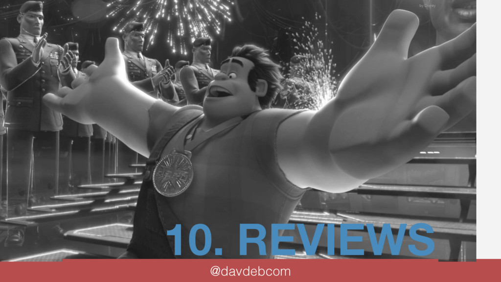 10. REVIEWS @davdebcom by Disney