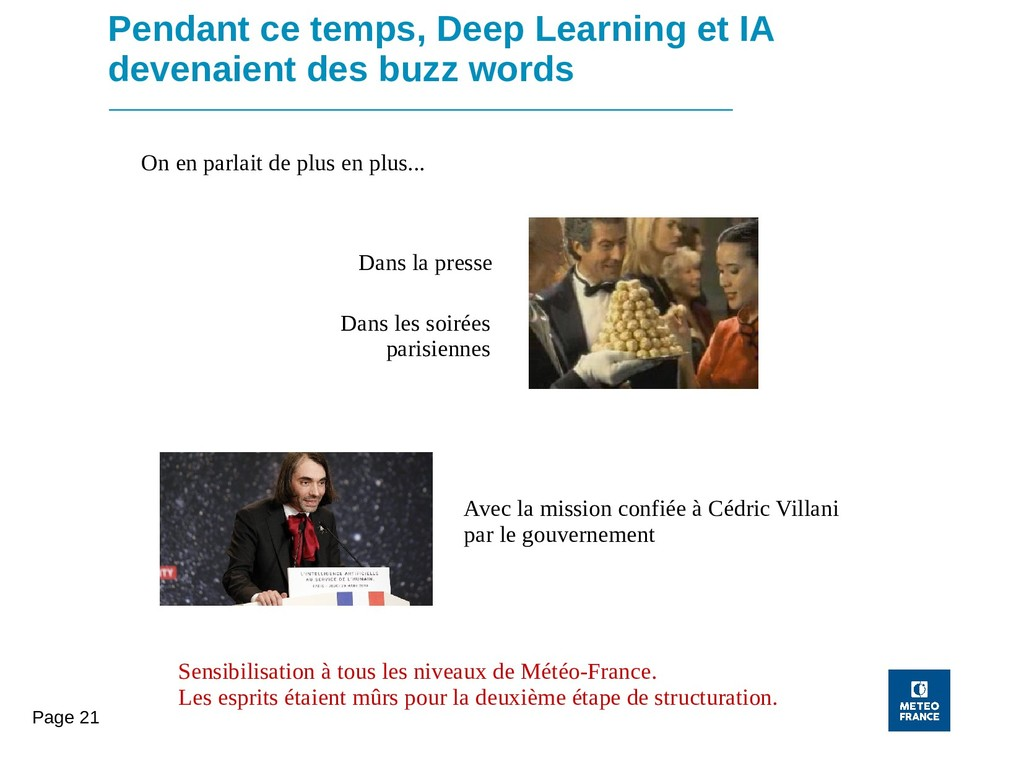Page 21 Pendant ce temps, Deep Learning et IA d...