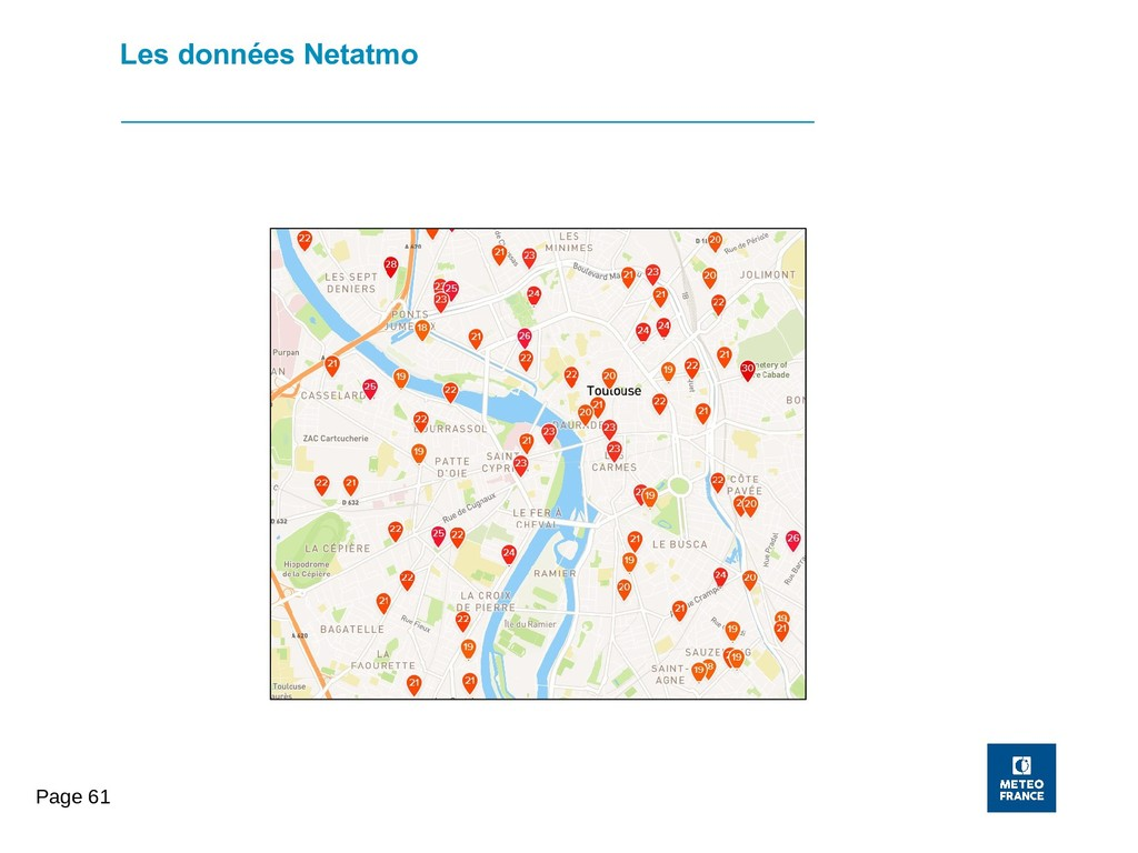 Page 61 Les données Netatmo