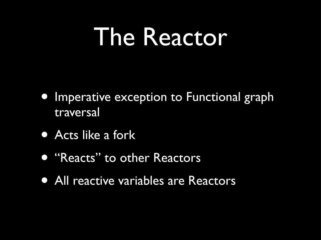 • Imperative exception to Functional graph trav...
