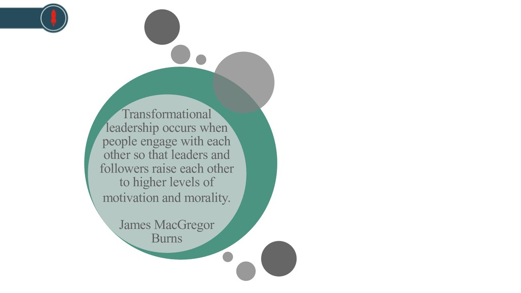Transformational leadership occurs when people ...