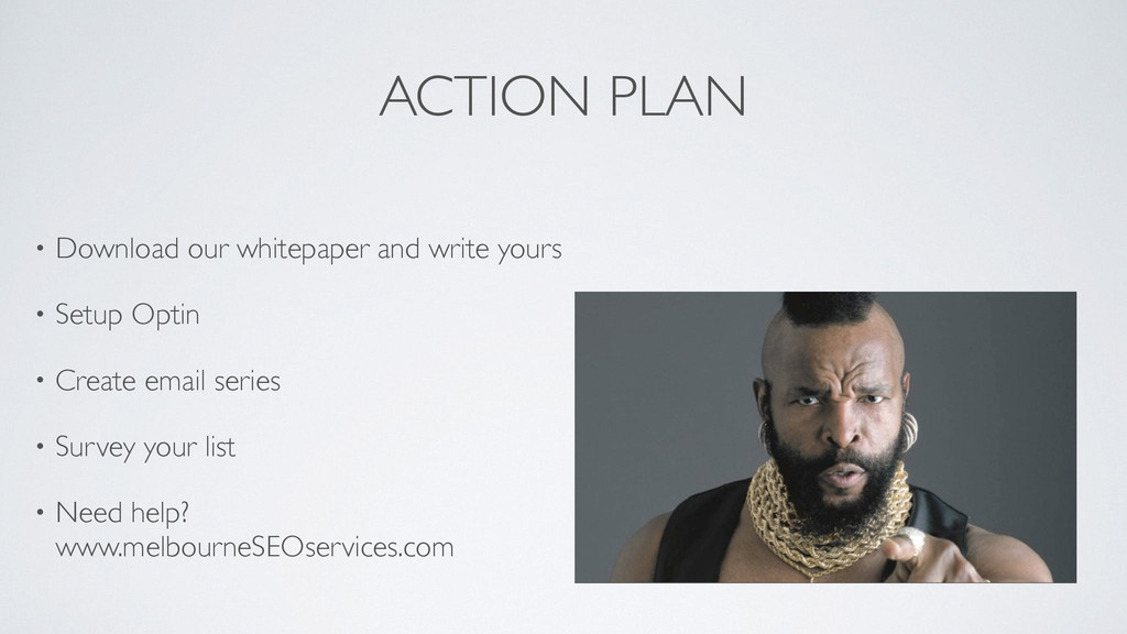 ACTION PLAN • Download our whitepaper and write...