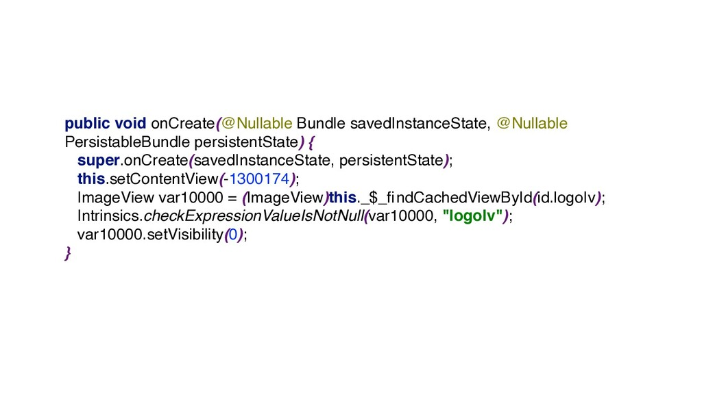 public void onCreate(@Nullable Bundle savedInst...
