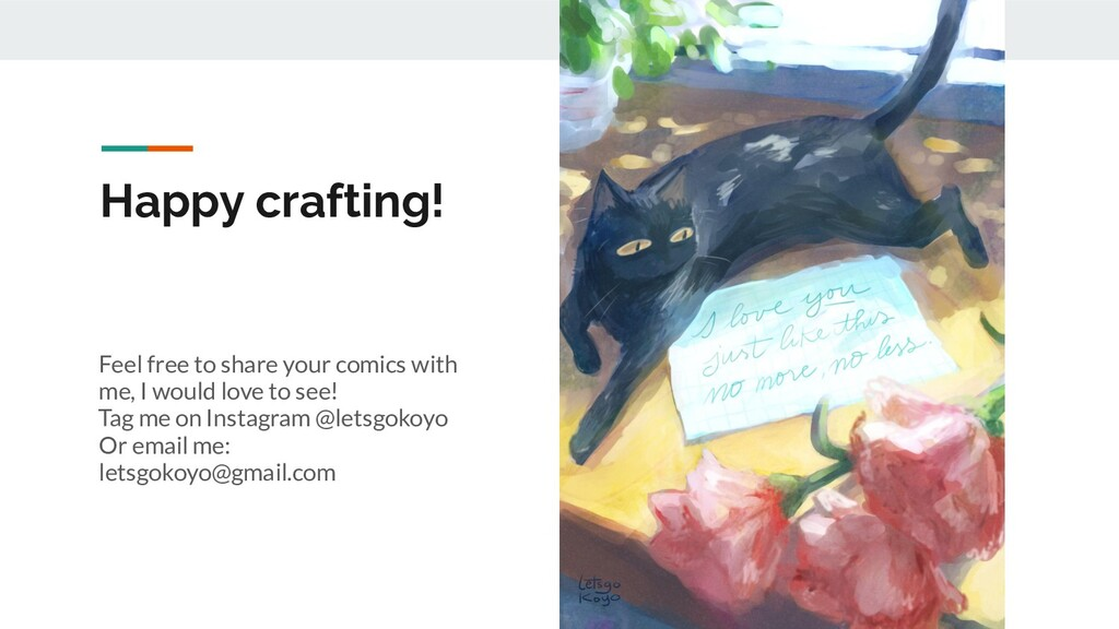 Happy crafting! Feel free to share your comics ...