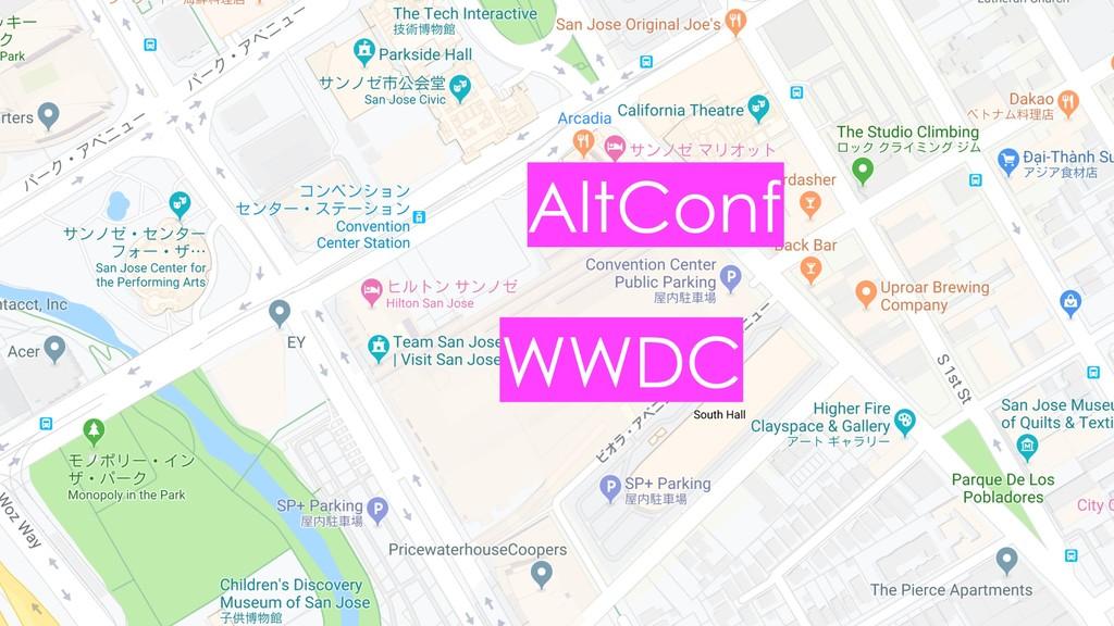 WWDC AltConf