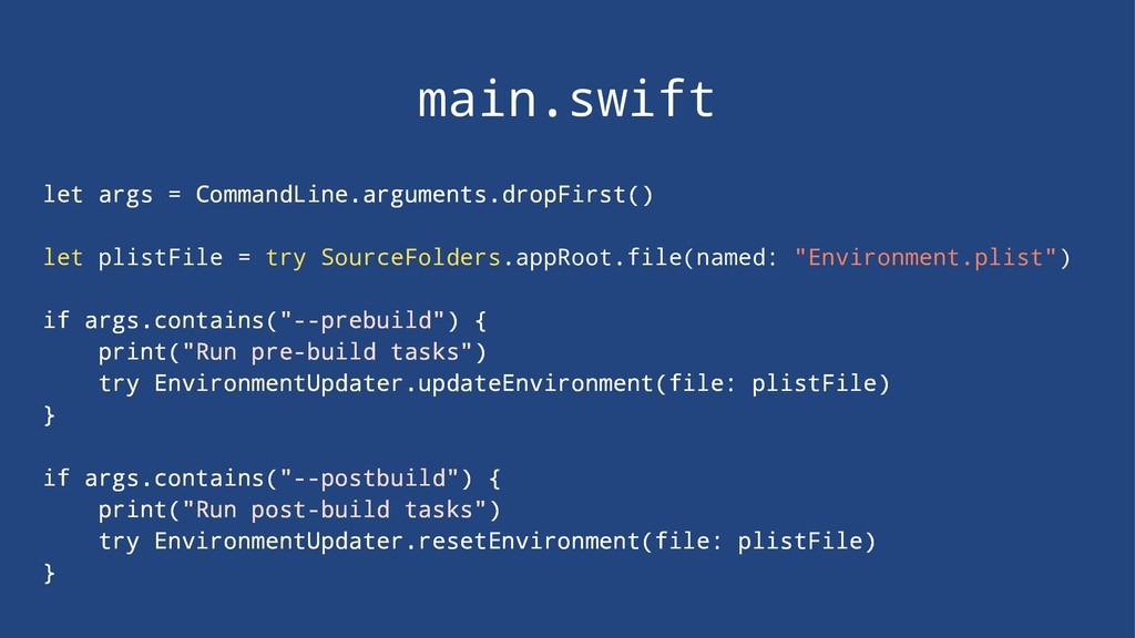 main.swift let args = CommandLine.arguments.dro...