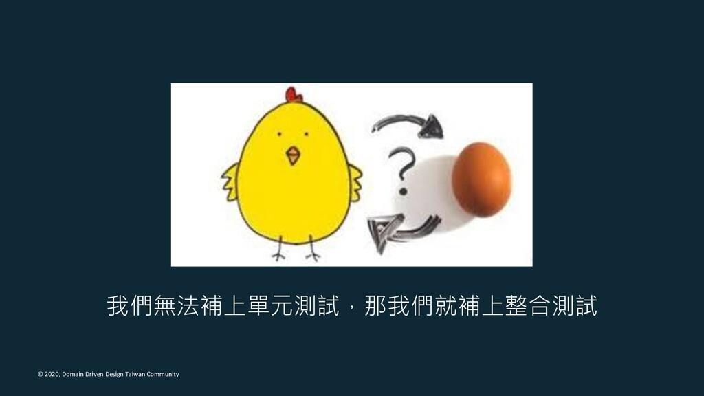© 2020, Domain Driven Design Taiwan Community 我...