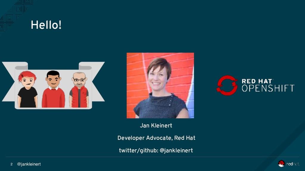 @jankleinert 2 Jan Kleinert Developer Advocate,...