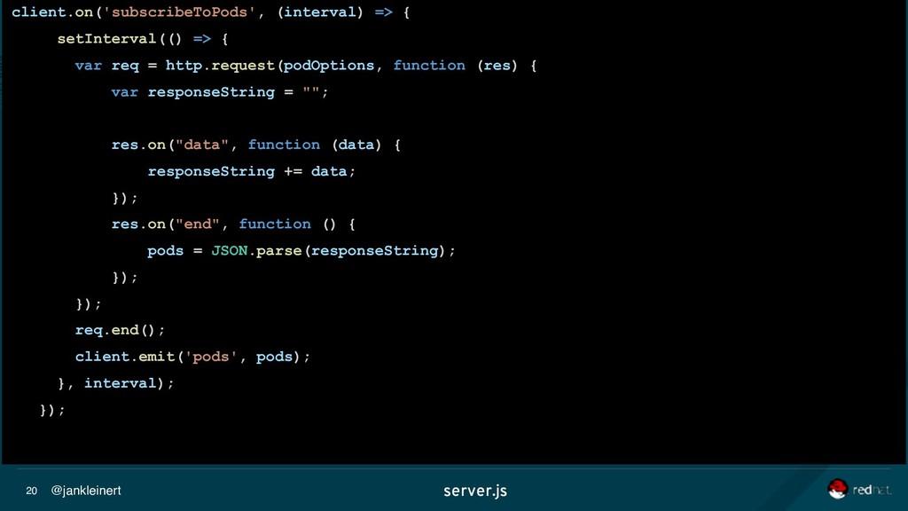 @jankleinert 20 server.js client.on('subscribeT...