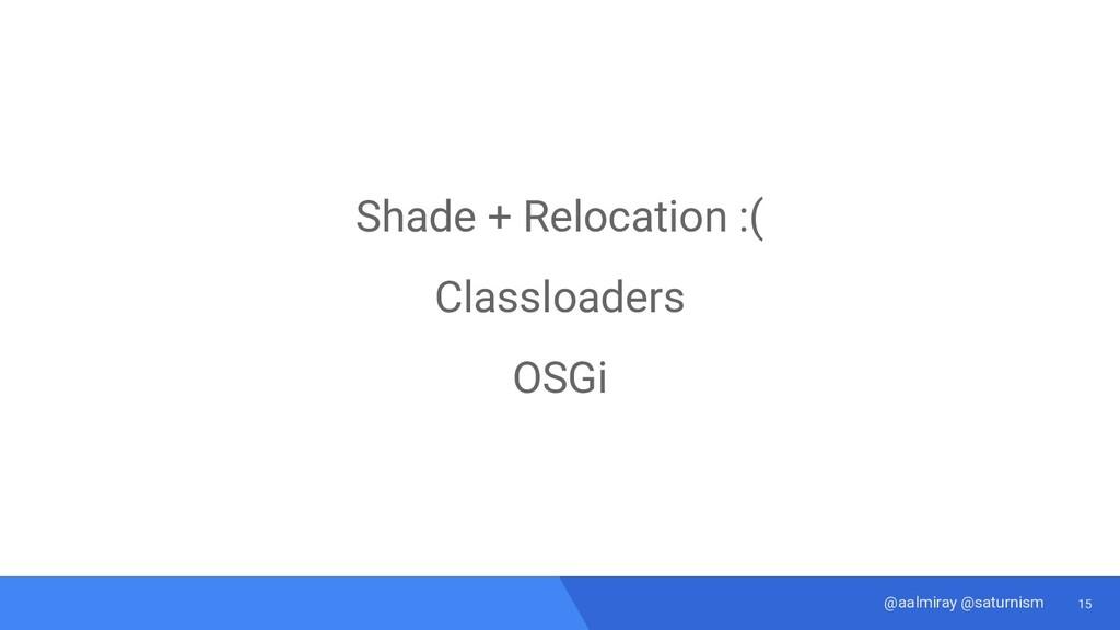 15 @aalmiray @saturnism Shade + Relocation :( C...