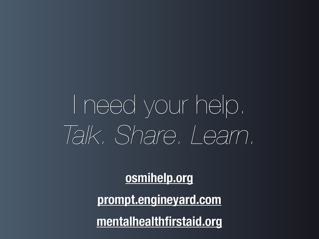 I need your help. Talk. Share. Learn. prompt.e...