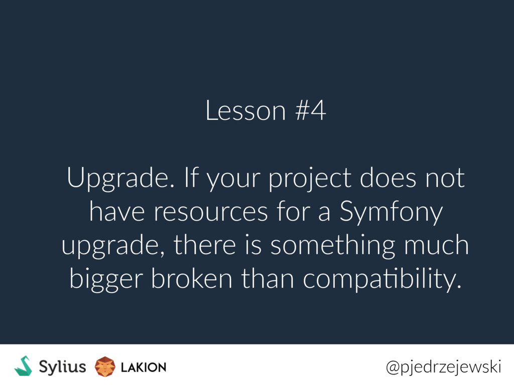 Lesson #4 Upgrade. If your project does not hav...