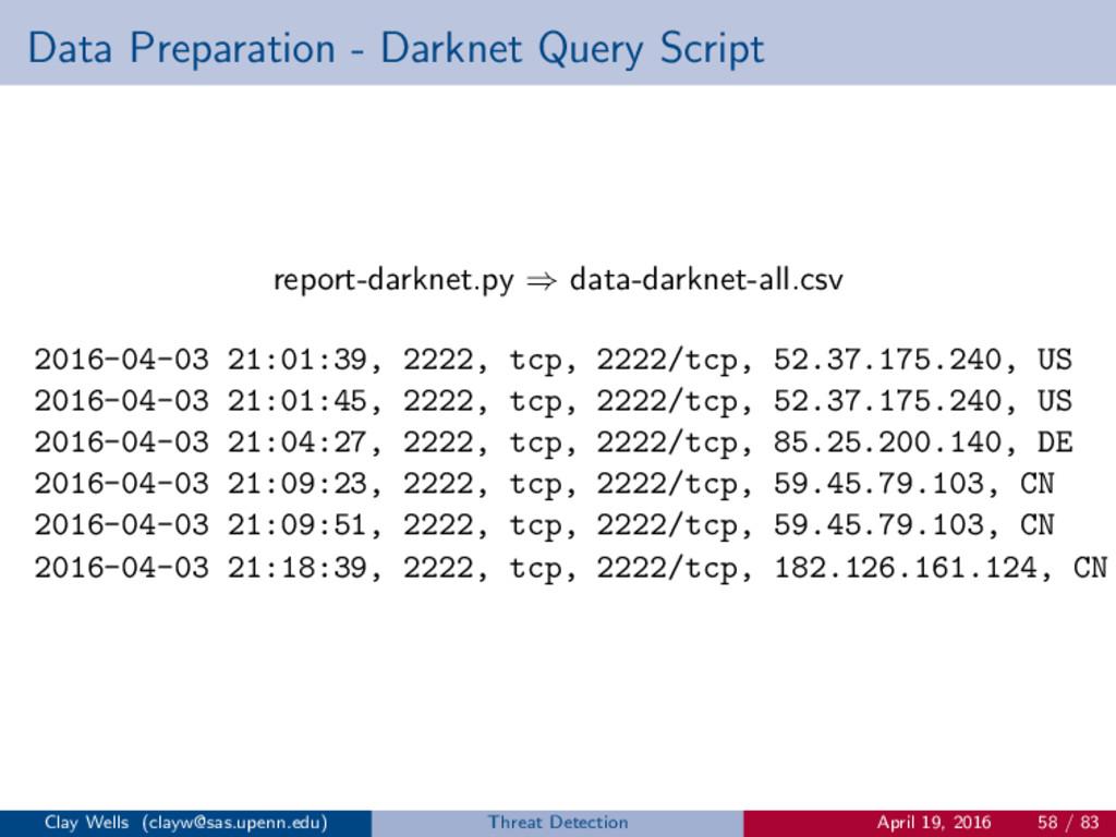 Data Preparation - Darknet Query Script report-...