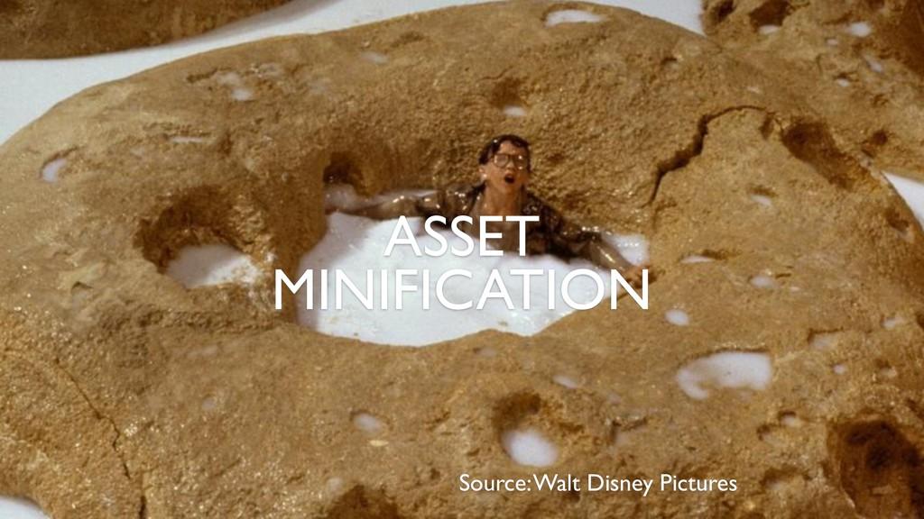 Source: Walt Disney Pictures ASSET MINIFICATION
